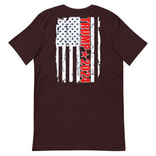 Load image into Gallery viewer, Trump 2024 Flag Short-Sleeve Unisex T-Shirt