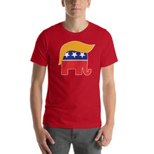 Load image into Gallery viewer, Trump Hair Short-Sleeve Unisex T-Shirt