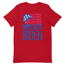 Load image into Gallery viewer, Impeach Biden Short-Sleeve Unisex T-Shirt