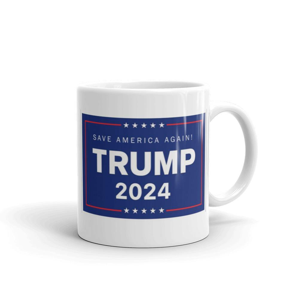 Trump 2024 Save America Again Mug