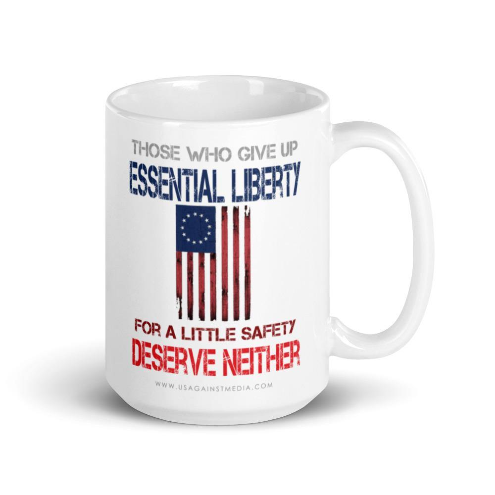 Essential Liberty Mug - Us Against Media
