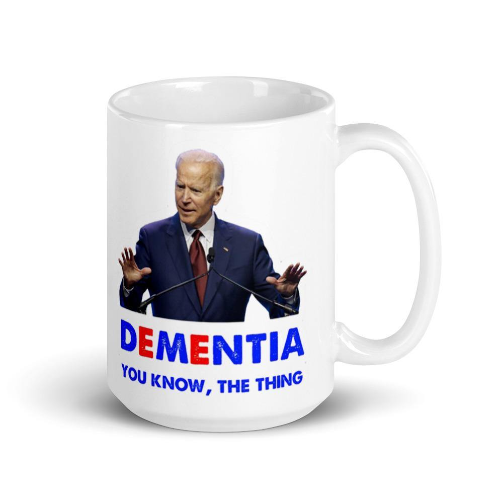 Dementia The Thing Mug - Us Against Media
