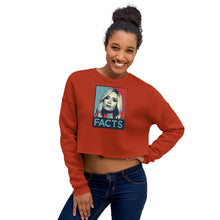 Load image into Gallery viewer, Kayleigh Facts Crop Sweatshirt - Us Against Media