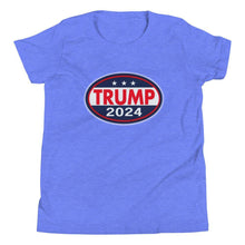 Load image into Gallery viewer, Trump 2024 Youth Short Sleeve T-Shirt