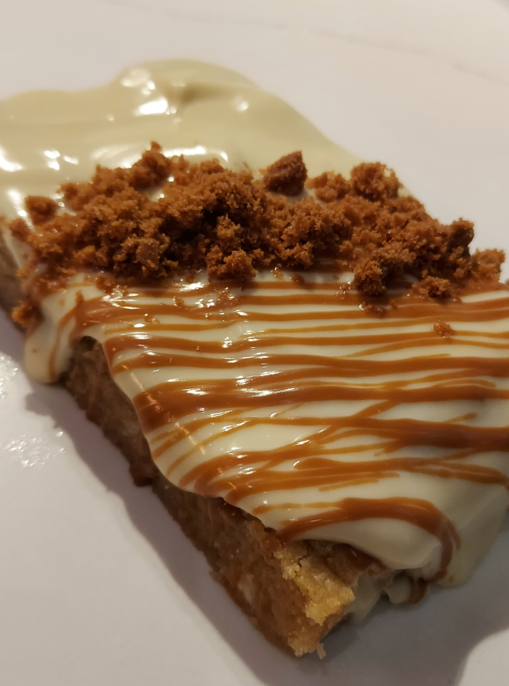 Lotus Biscoff Cookie Bar