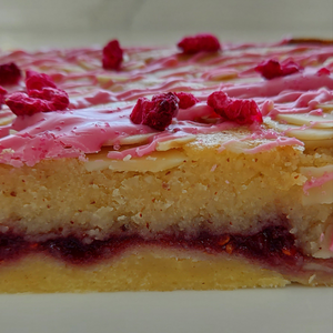 Half Size Homemade Luxury Bakewell Tart