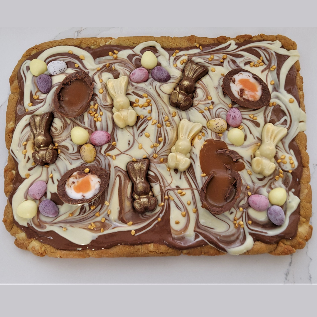 Easter Themed Cookie Slab