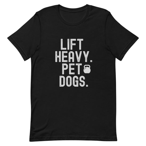 Lift Heavy Pet Dogs T-Shirt - Iron Paws