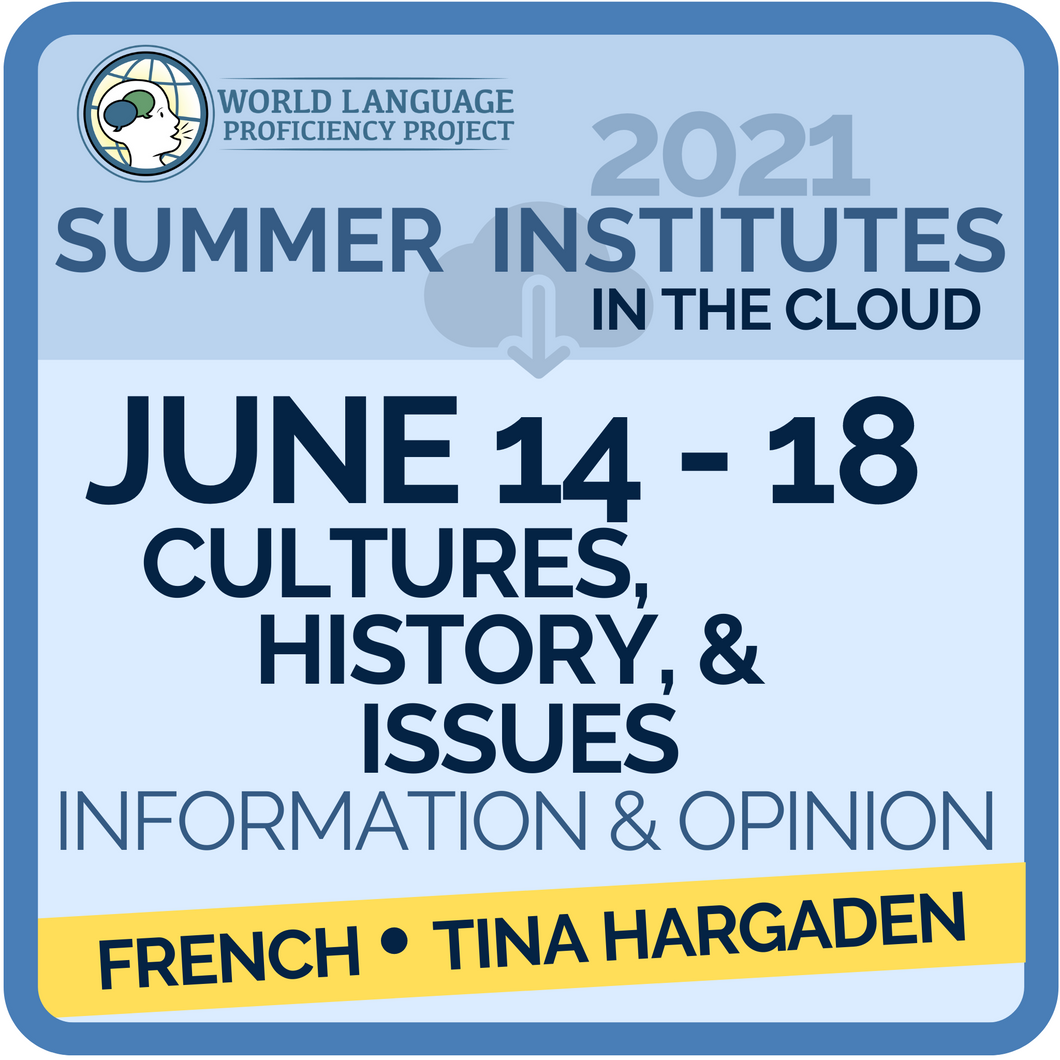 June 14-18 Culture, History, & Issues