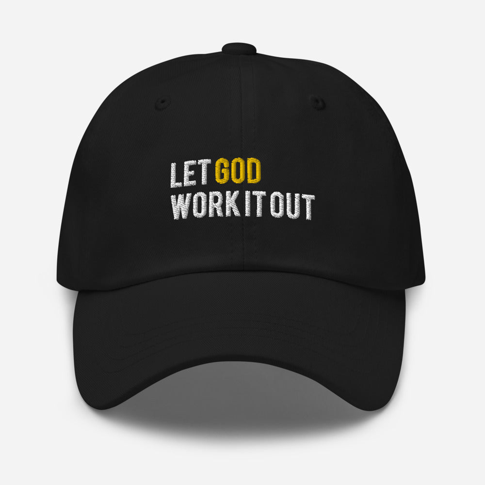 Let God Work It Out Hat