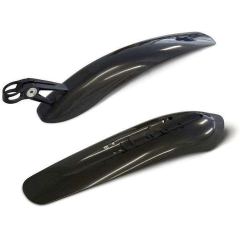 Crud Twinpac Mudguard Set - Black - Change Bike UK