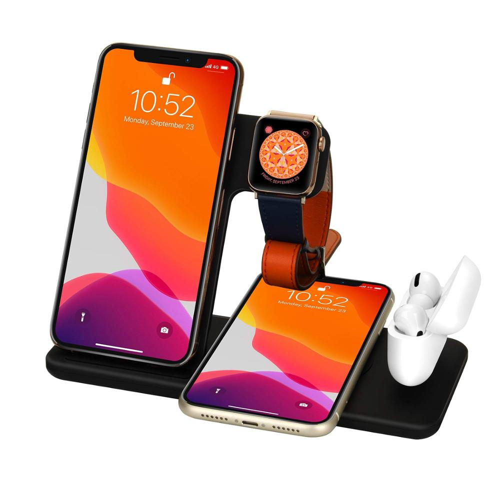Best High Quality Foldable Qi Fast Wireless Charger Stand Online