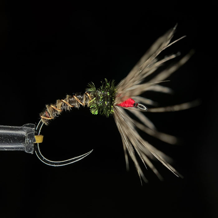 Pheasant Tail Sakasa Kebari - Tenkara Fly Tying Video