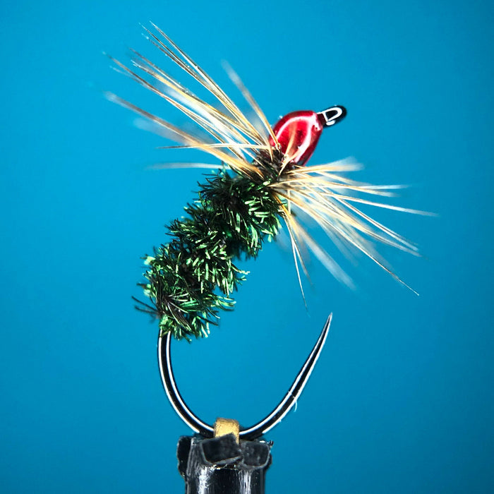 Peacock Hot Head Futsu Kebari - Tenkara Fly Tying Video
