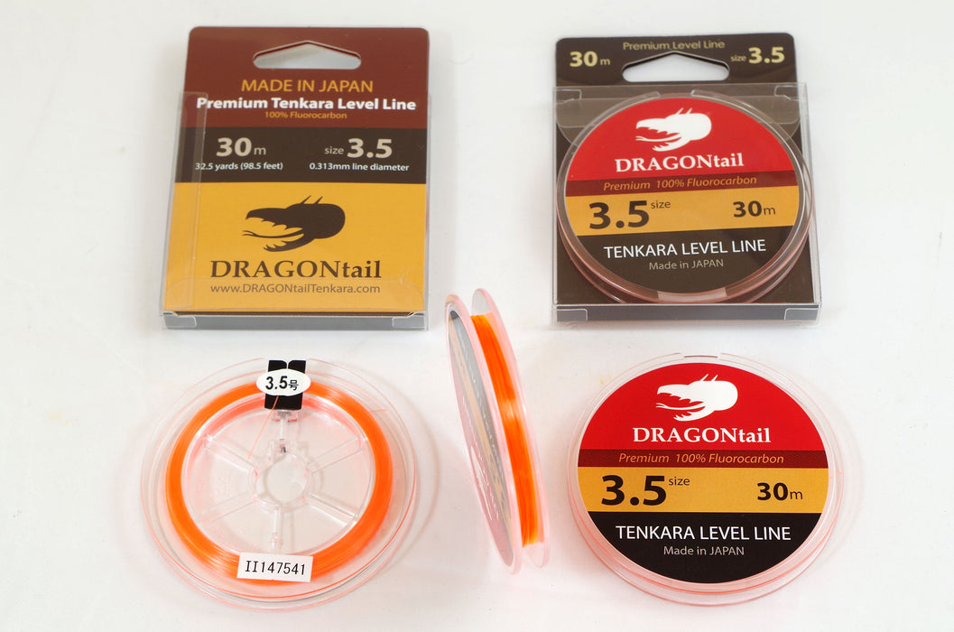 DRAGONtail Tenkara Level Line