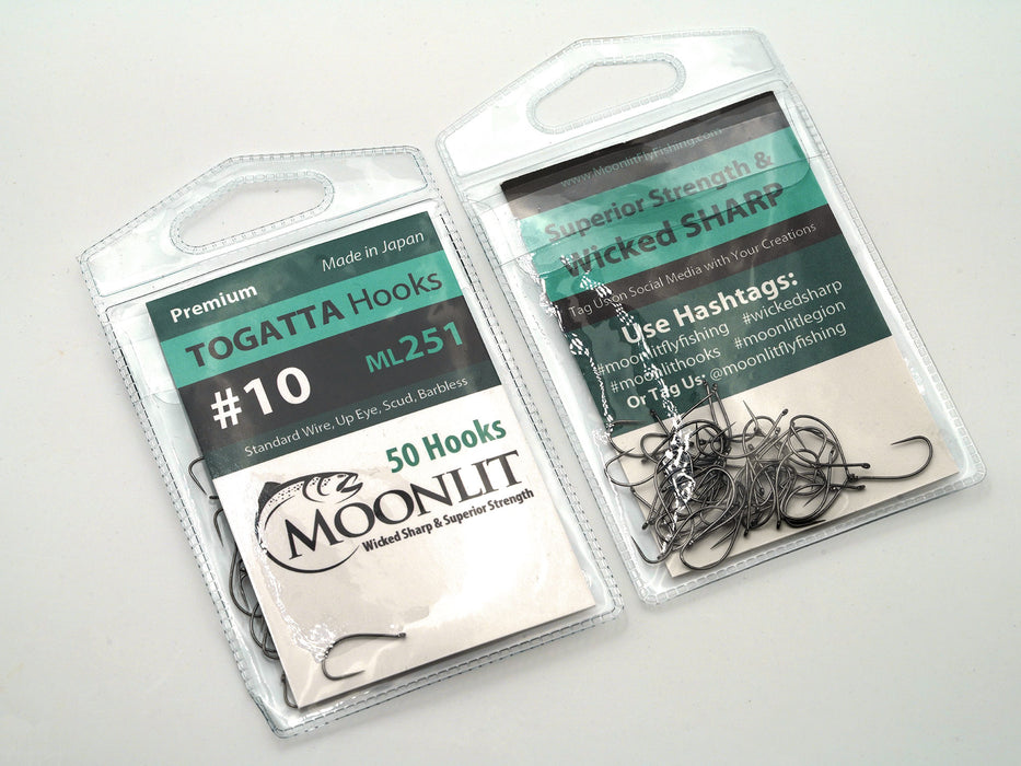 TOGATTA ML251 Premium Barbless Hook (50 pack)