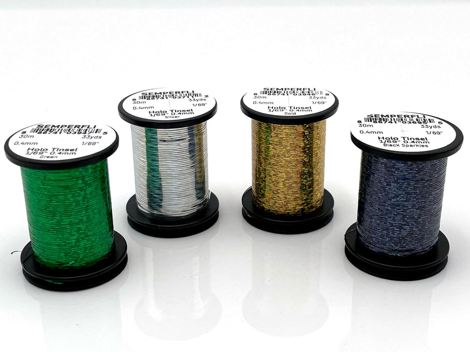 Semperfli Holographic Tinsel 1/69 small (0.4mm)