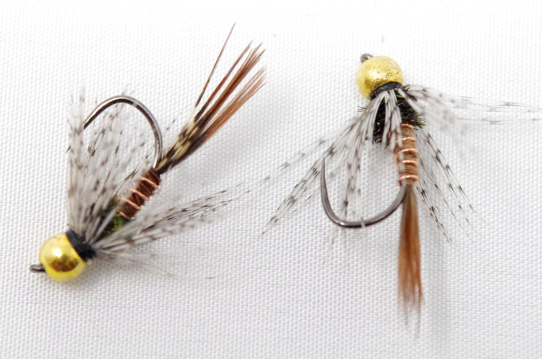12 Pheasant Tail Soft Hackle flies