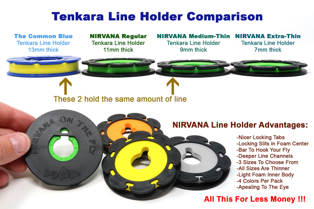 Nirvana Line Holders (4 pack)