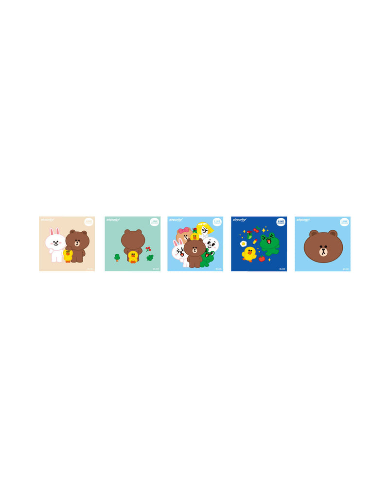 LINE FRIENDS AP貼紙