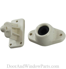 Door Holder Rod and Retainer (Colonial White)