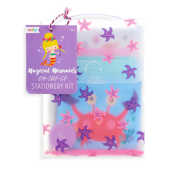 Magical Mermaids On-the-Go Stationery Kit