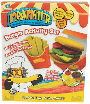 Burger Activity Set - Mad Mattr