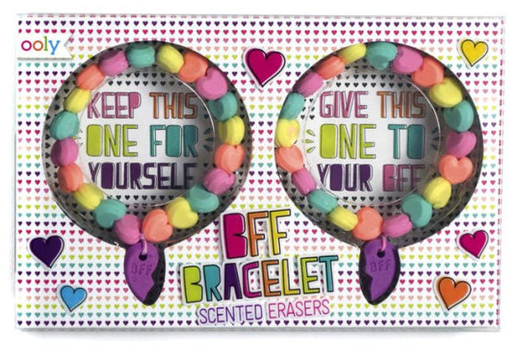 BFF Scented Erasers Bracelets- Set of 2