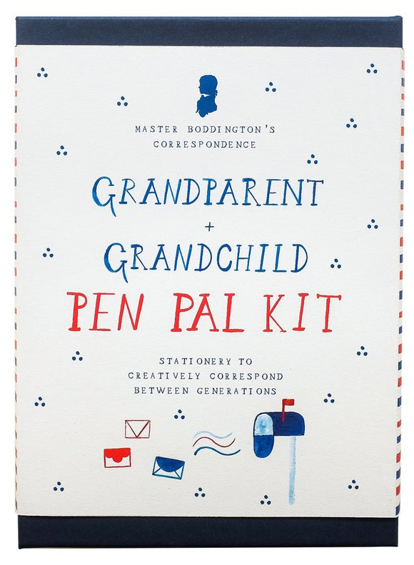 Grandparent & Grandchild Pen Pal Kit - Correspondence Box