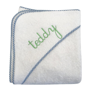 Monogrammable Hooded Terry Towel