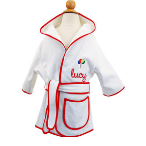 Monogramable Hooded Cover-up Robe