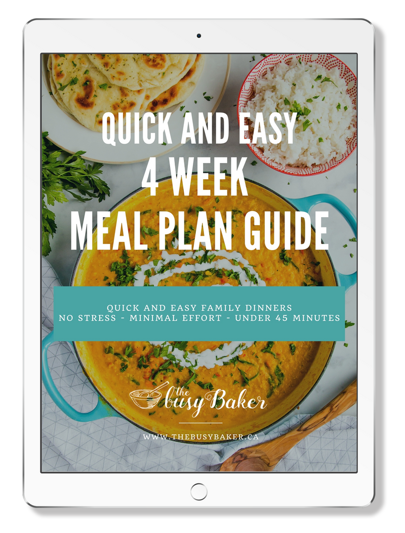 Quick and Easy 4-Week Meal Plan Guide