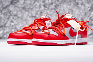 SB Dunk Off White Red