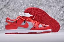 Load image into Gallery viewer, SB Dunk Off White Red