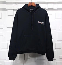 Load image into Gallery viewer, Balenciaga Hoodie Black Print
