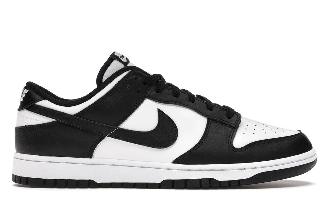 SB Dunk Black White