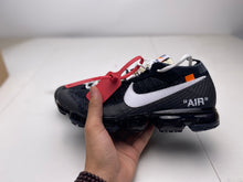 Load image into Gallery viewer, Off White Vapormax Black