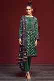 41901103-Linen - Green Digital Printed 3PC - Nishat Linen UAE