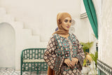 DS20-80 Printed Stitched Jalabiya ƒ?? 1PC