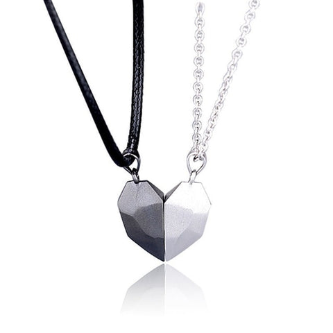 Heart Necklace - Two Souls One Heart  🥰