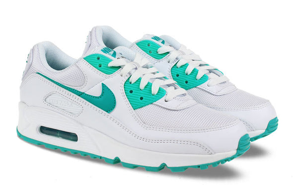 NIKE AIR MAX 90 WIT/TURQUOISE HEREN