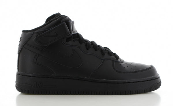NIKE AIR FORCE 1 MID ZWART