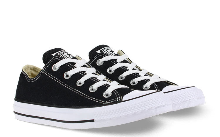 CONVERSE ALL STAR LOW OX ZWART/WIT DAMES