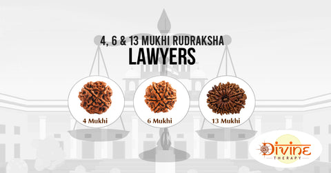 Combinations of Rudraksha for Lawyers