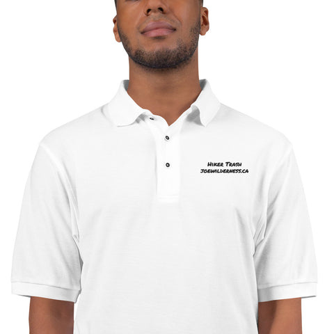 """Hiker Trash"" Men's Premium Polo"