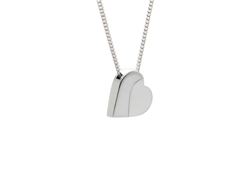 Sweeping Heart Pendant