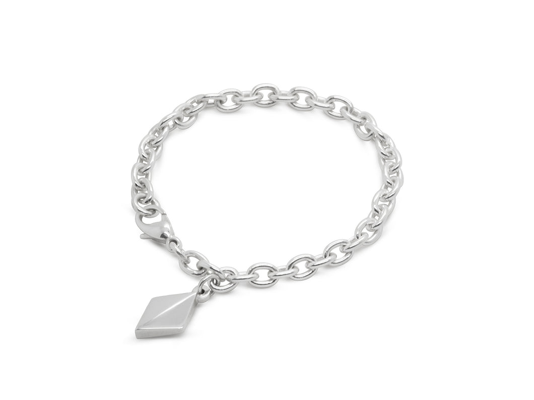 Faceted Diamond Bracelet