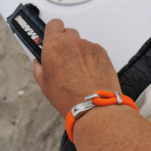 WAVEPIRATE Segeltauarmband PEAK ST ORANGE