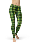 Clover Patchwork Leggings in Soft Lycra Fabric
