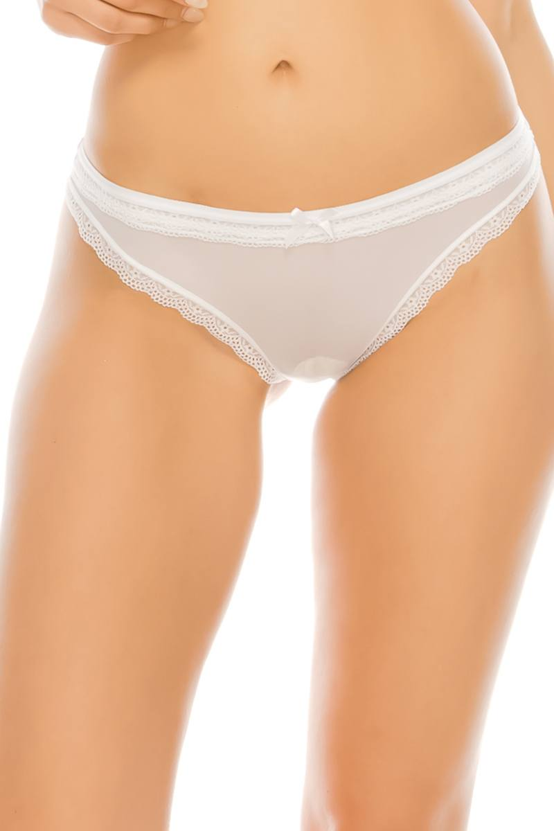 Lace & Mesh G-string Thong